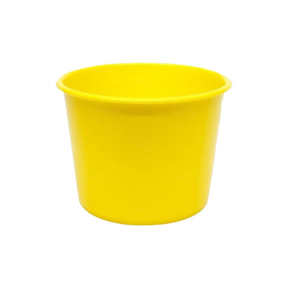 Balde De Pipoca Personalizado - 1,5 L Amarelo