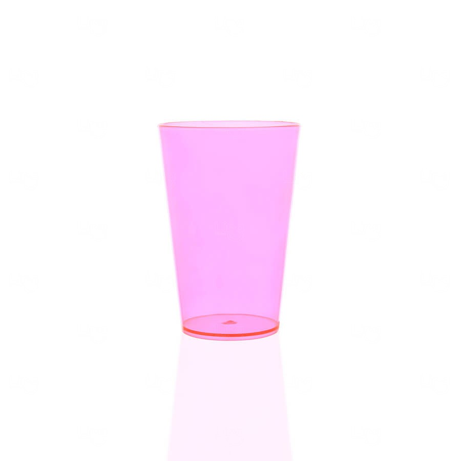 Copo Personalizado - 350ml (Leitoso ou Cristal) Rosa