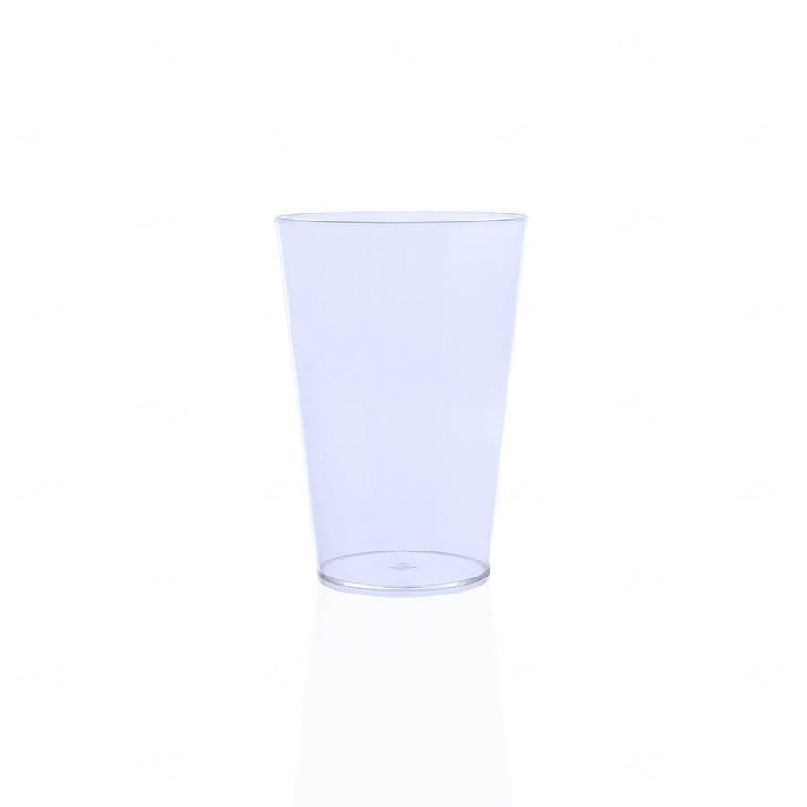 Copo Personalizado - 350ml (Leitoso ou Cristal) Transparente