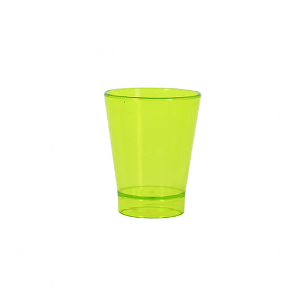 Copo Shot Personalizado - 60ml (Leitoso ou Cristal) Verde Claro