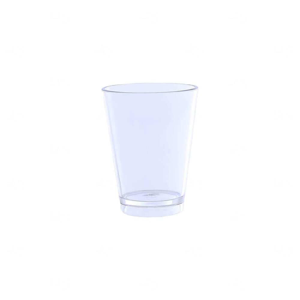 Copo Shot Personalizado - 60ml (Leitoso ou Cristal) Transparente