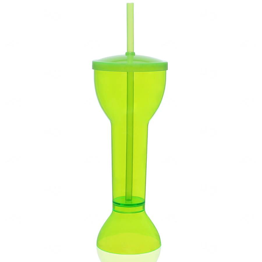 Copo Yard Prime Personalizado - 550ml (Leitoso ou Cristal) Verde