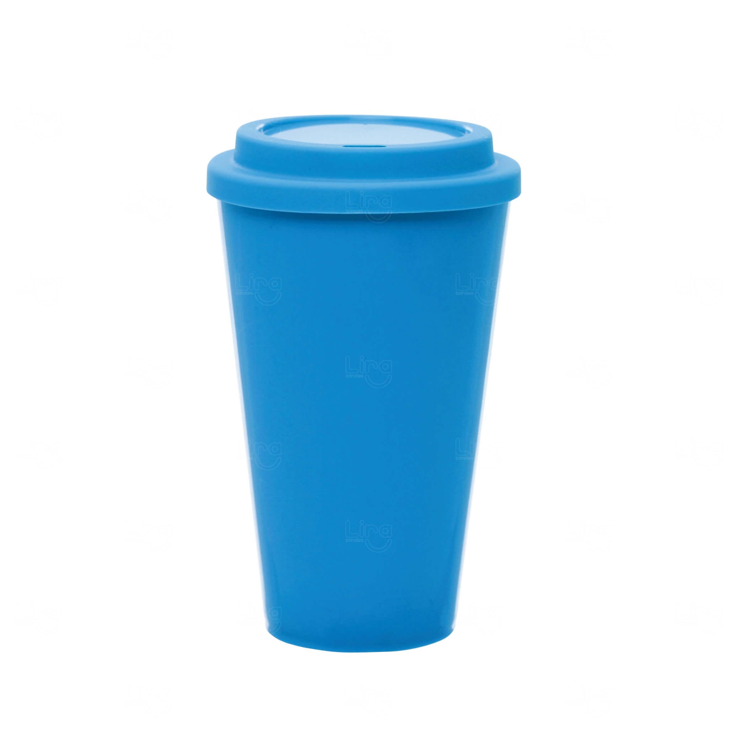 Copo Café Personalizado - 550ml Azul