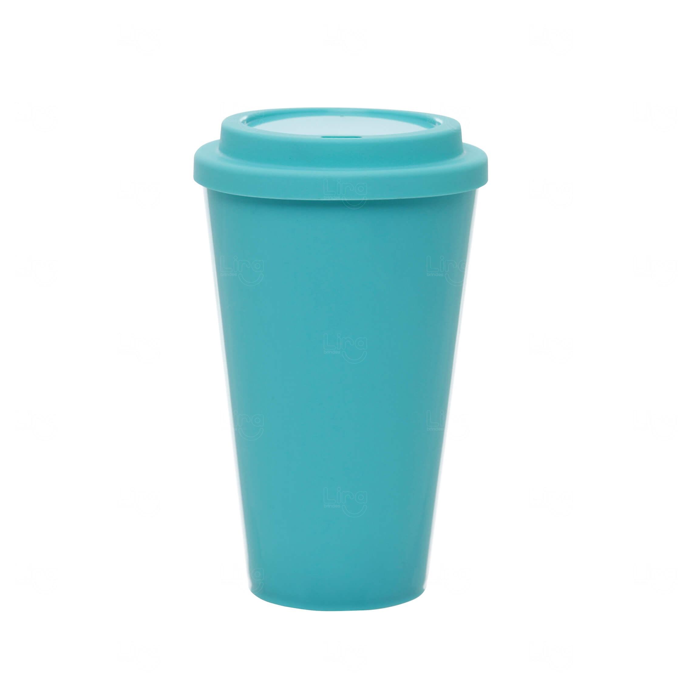 Copo Café Personalizado - 550ml Verde água