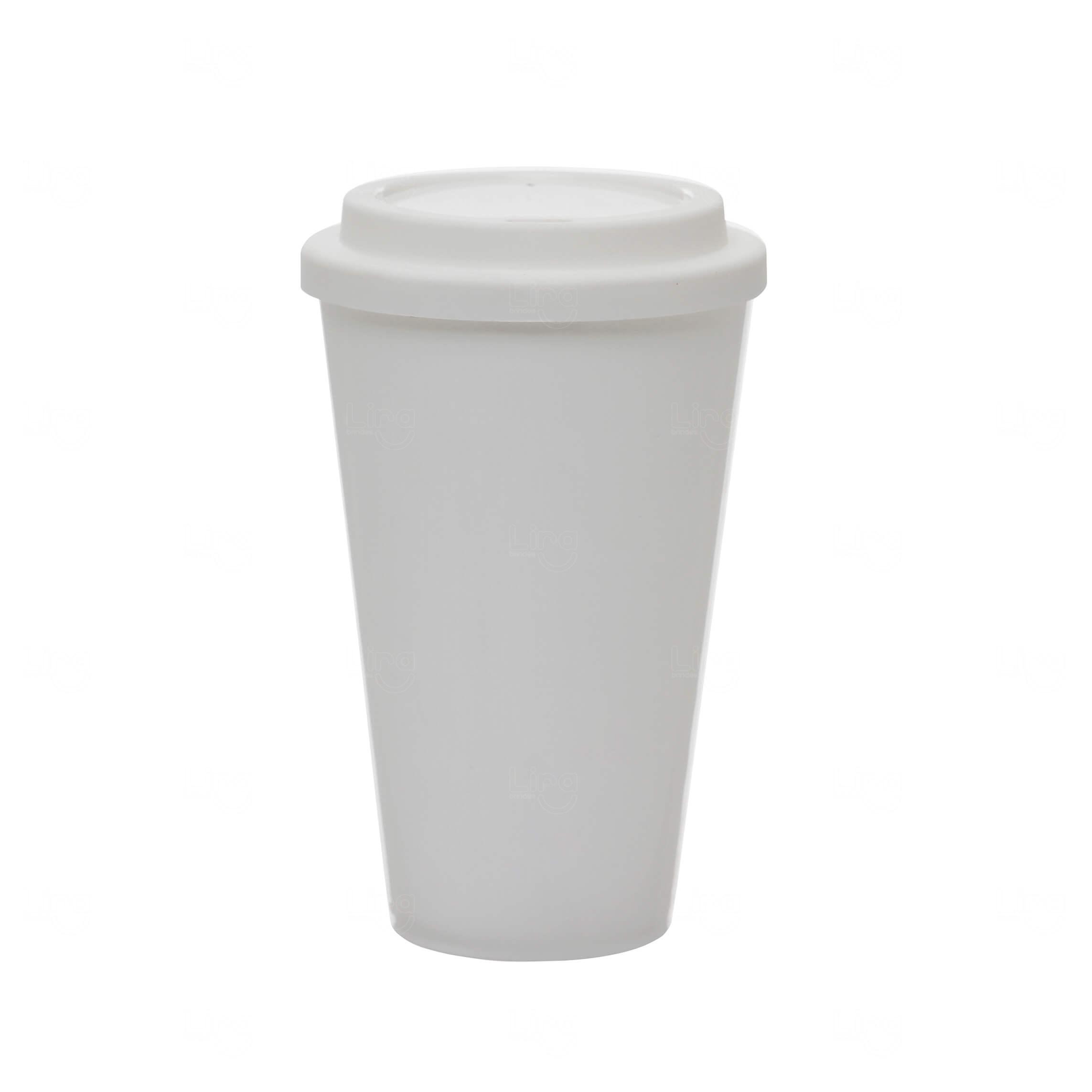 Copo Café Personalizado - 550ml Branco