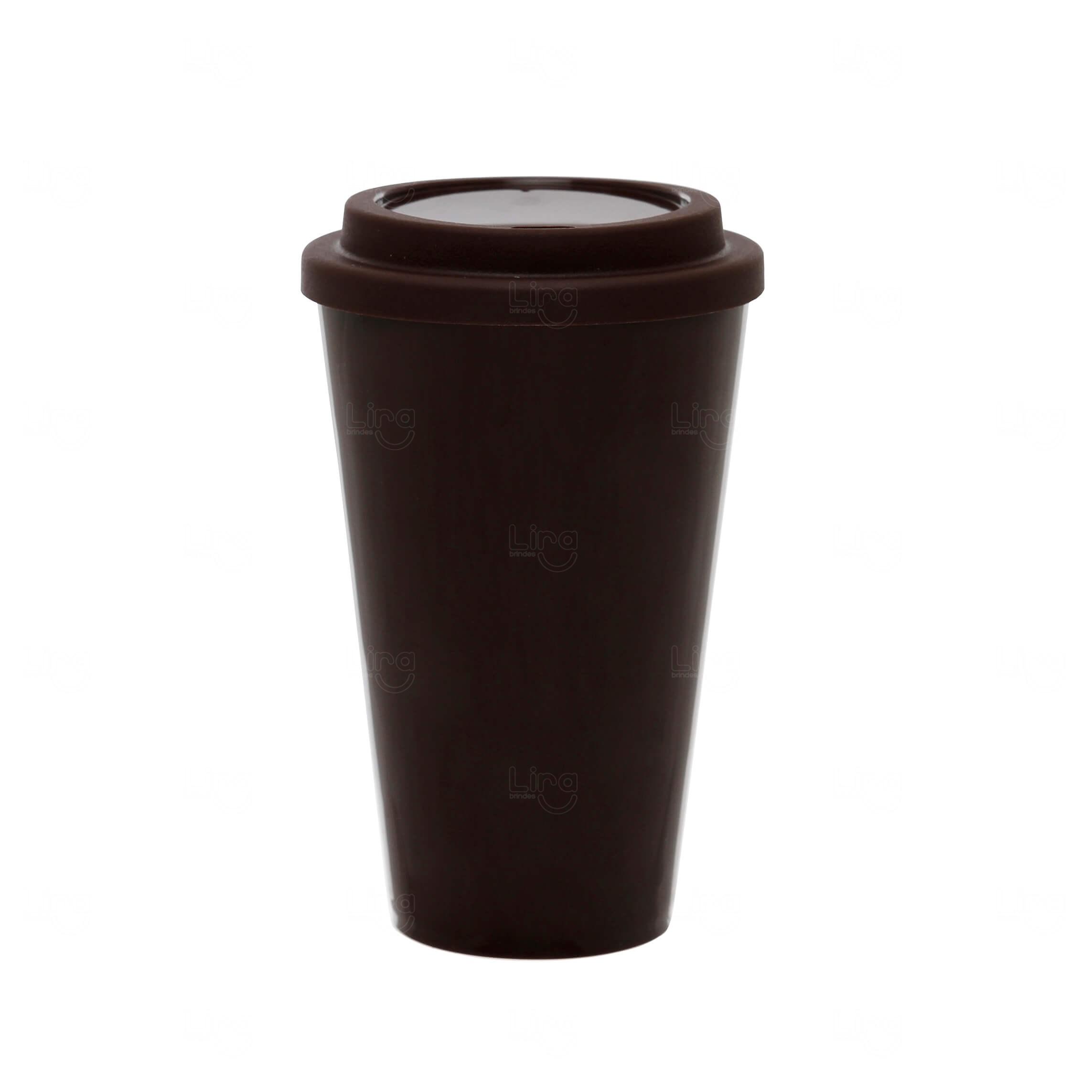 Copo Café Personalizado - 550ml Marrom