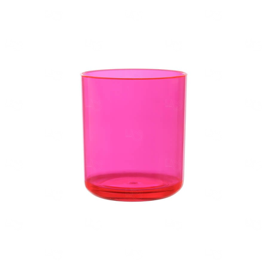 Copo Whisky Personalizado - 350ml Rosa