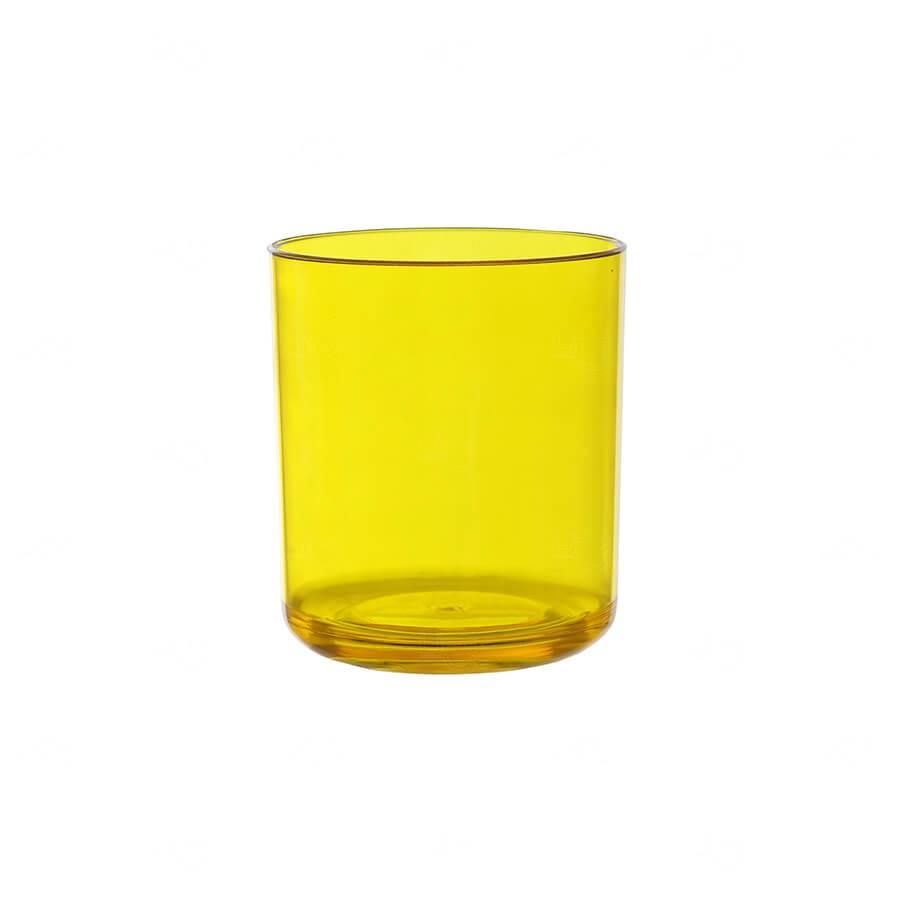 Copo Whisky Personalizado - 350ml Amarelo