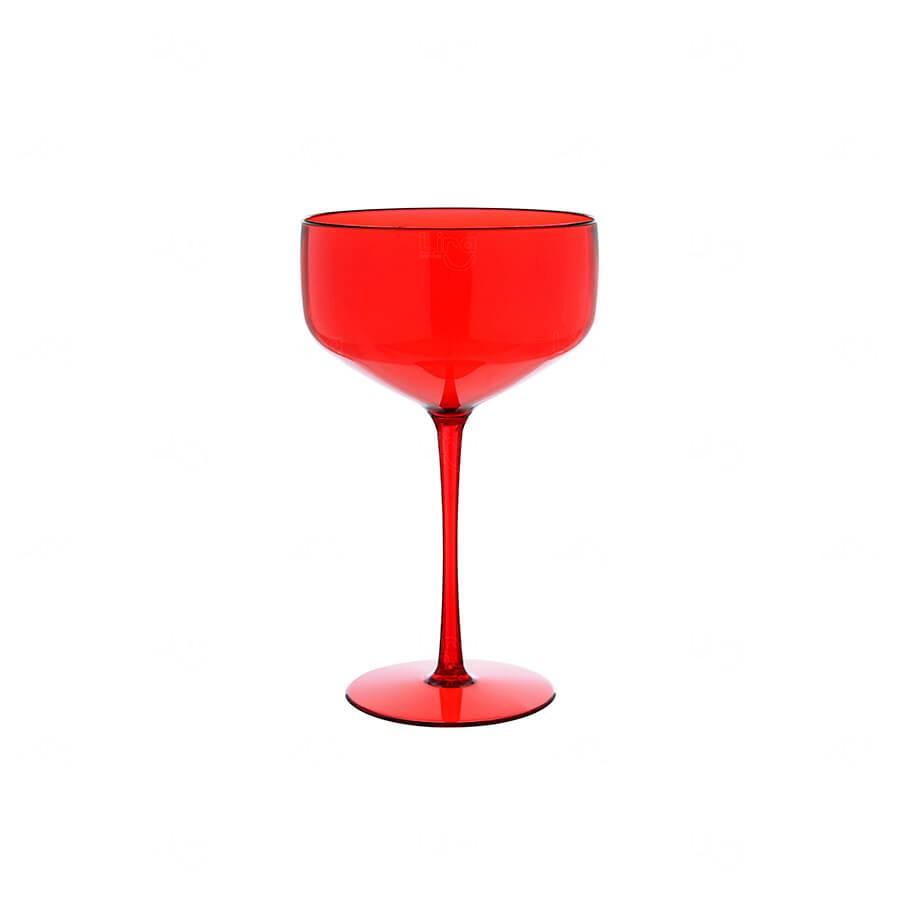 Taça Coupe Personalizado - 390ml Vermelho
