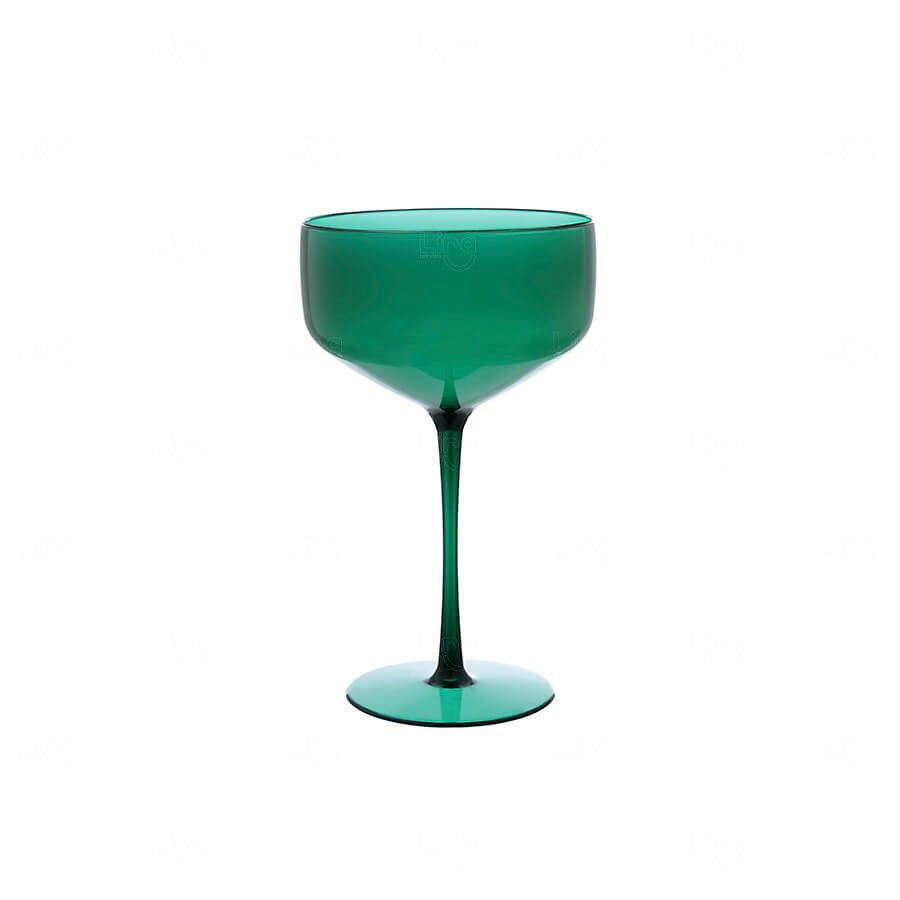 Taça Coupe Personalizado - 390ml Verde