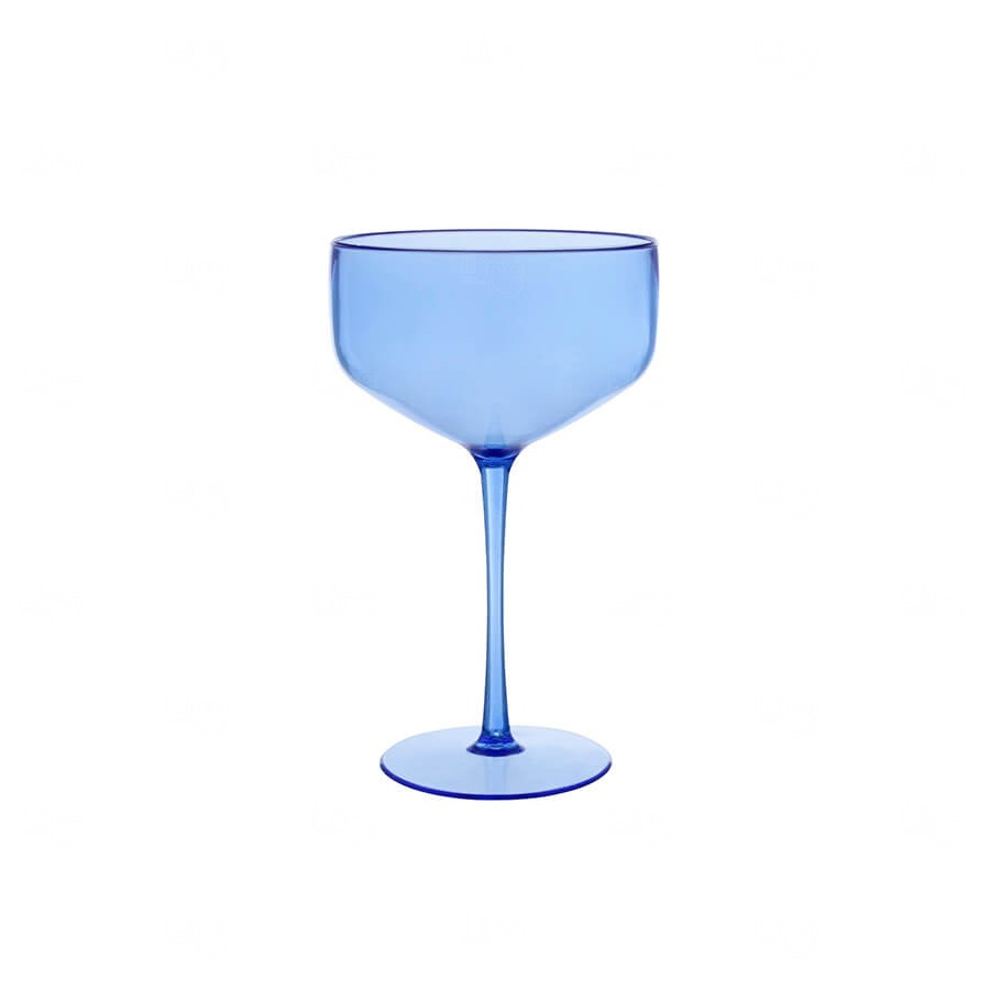 Taça Coupe Personalizado - 390ml Azul Claro
