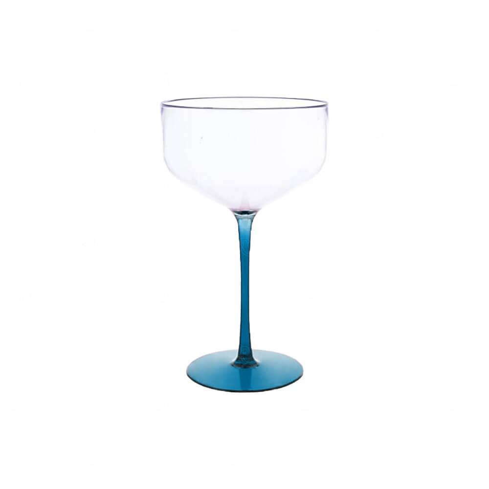Taça Coupe Bicolor Personalizado - 390ml Azul