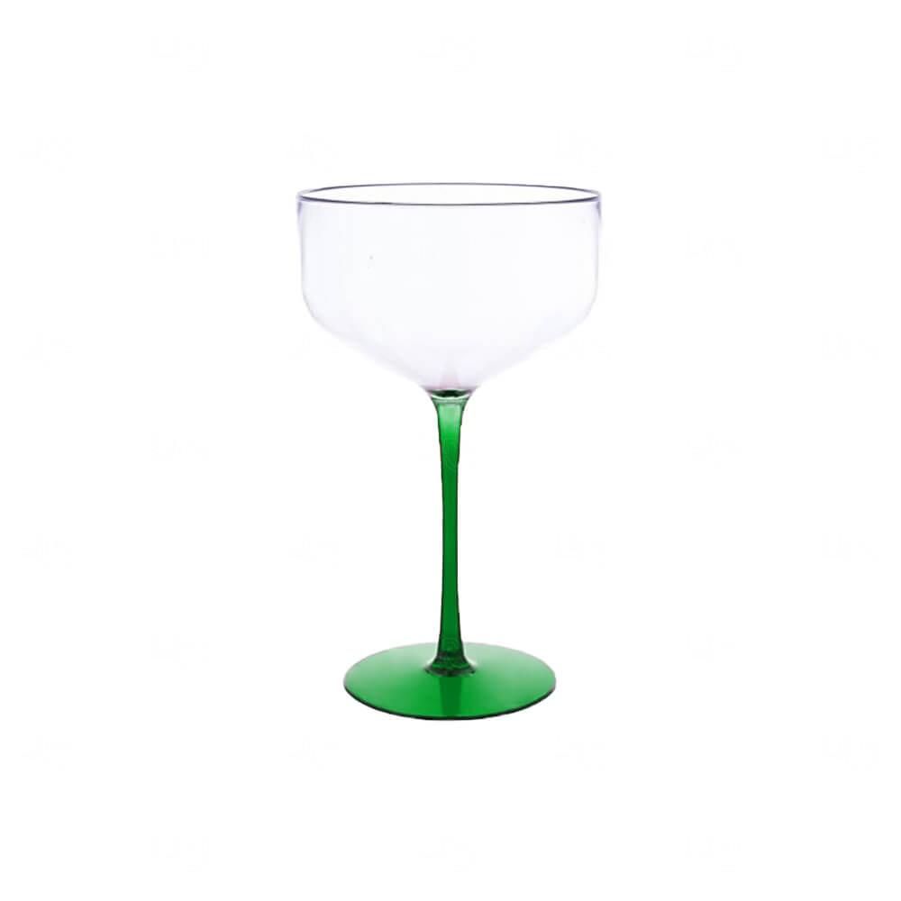 Taça Coupe Bicolor Personalizado - 390ml Verde