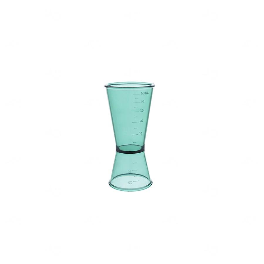 Dosador De Bebidas Personalizado - 50ml Verde água