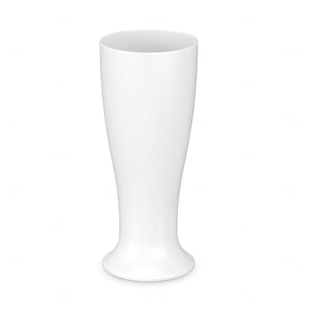 Copo Tulipa Acrílico Chopp Personalizada - 300ml Branco