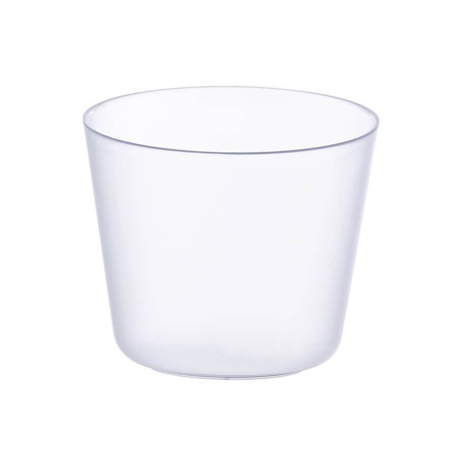 Mini Balde De Gelo Personalizado - 2 L (Leitoso ou Cristal) Transparente