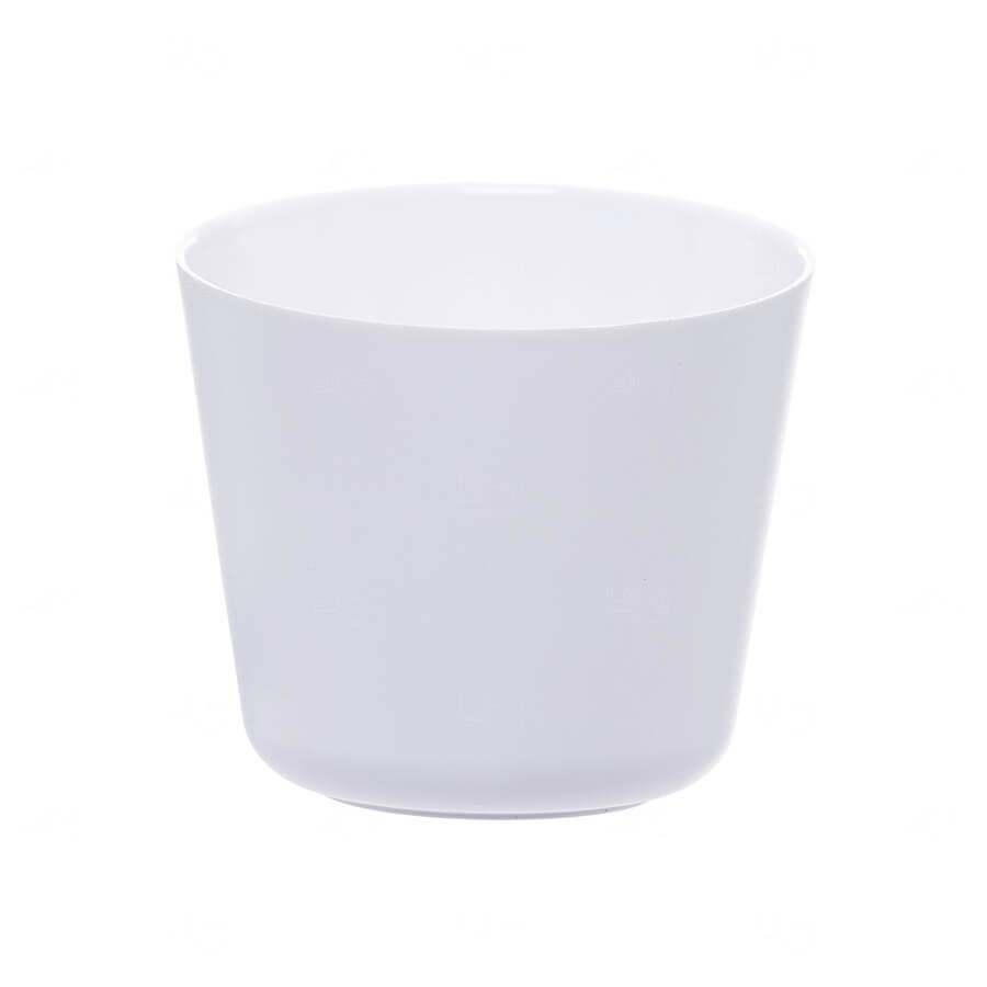 Mini Balde De Gelo Personalizado - 2 L (Leitoso ou Cristal) Branco