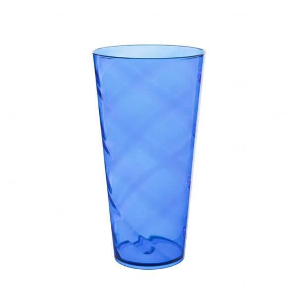 Copão Personalizado - 1 L (Leitoso ou Cristal) Azul