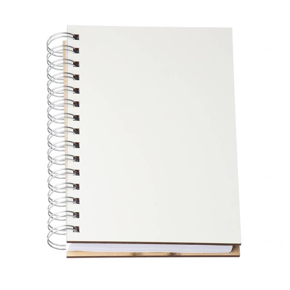 Agenda Diária 2021 MDF Personalizada - 20 x 15,50 cm