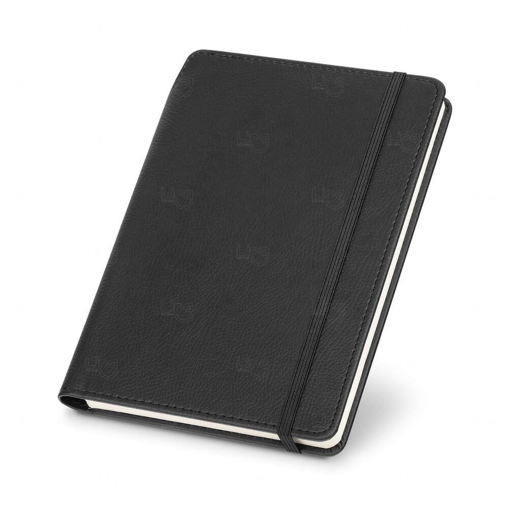 Caderno De Capa Dura Personalizado Preto