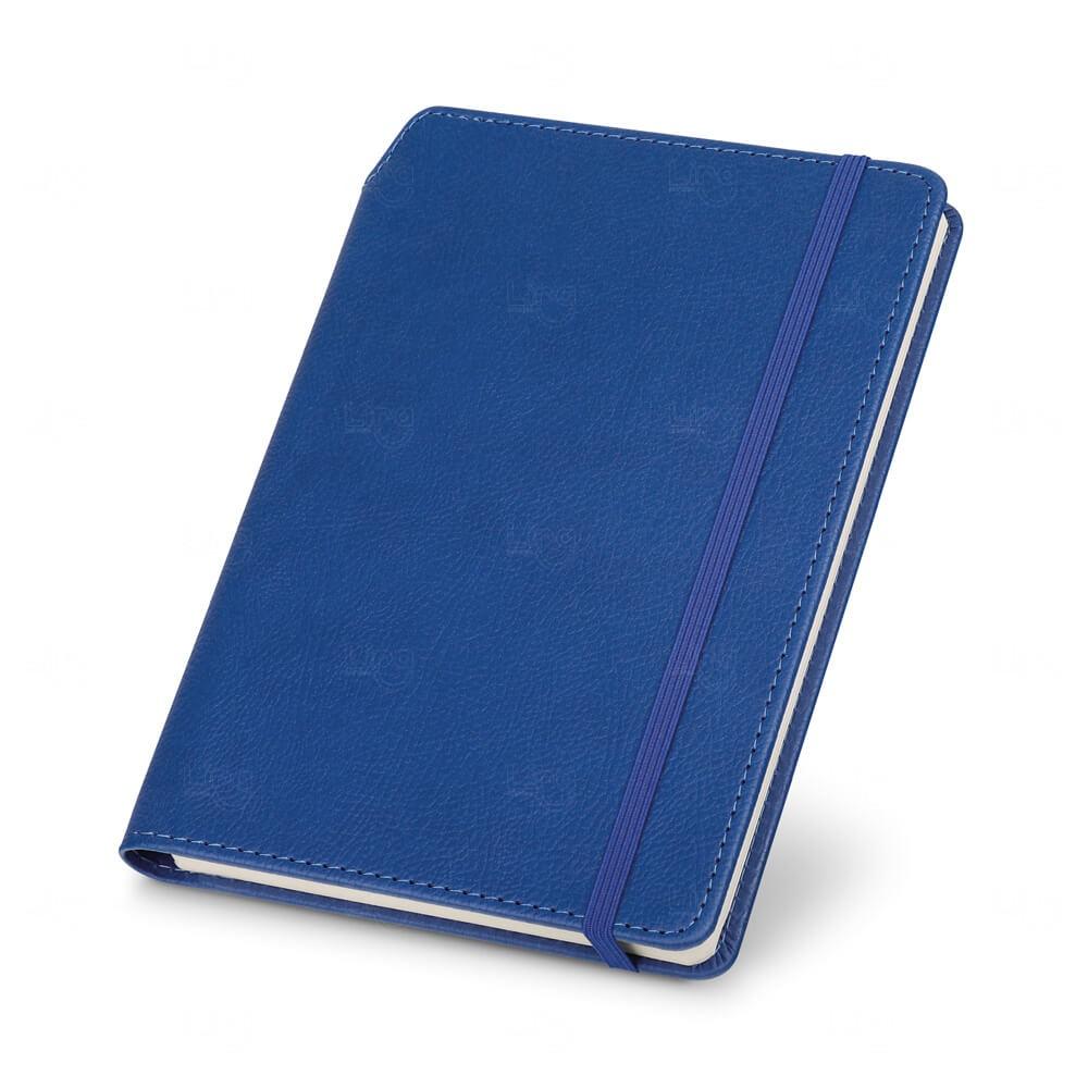 Caderno De Capa Dura Personalizado Azul