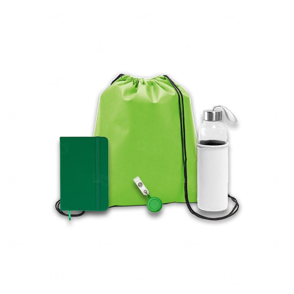 Kit Welcome Back Personalizado - 4 Peças Verde