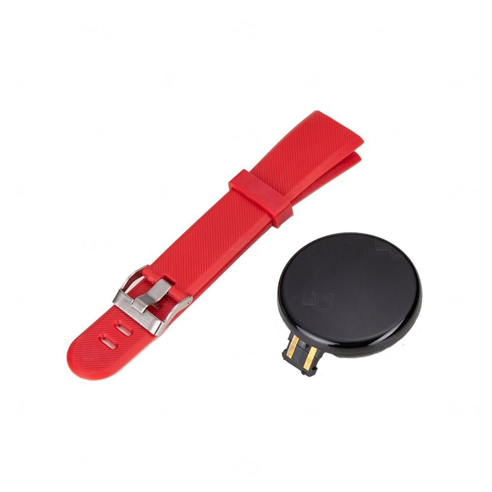 Relógio Smartwatch D118 Personalizado Vermelho
