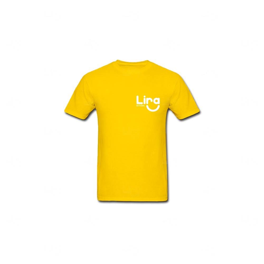 Camiseta Poliéster Personalizada Amarelo