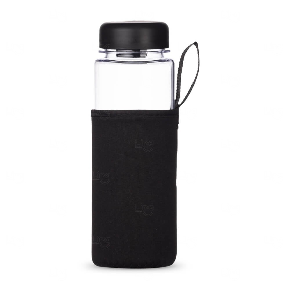 Squeeze de Plástico Personalizada - 550ml Transparente