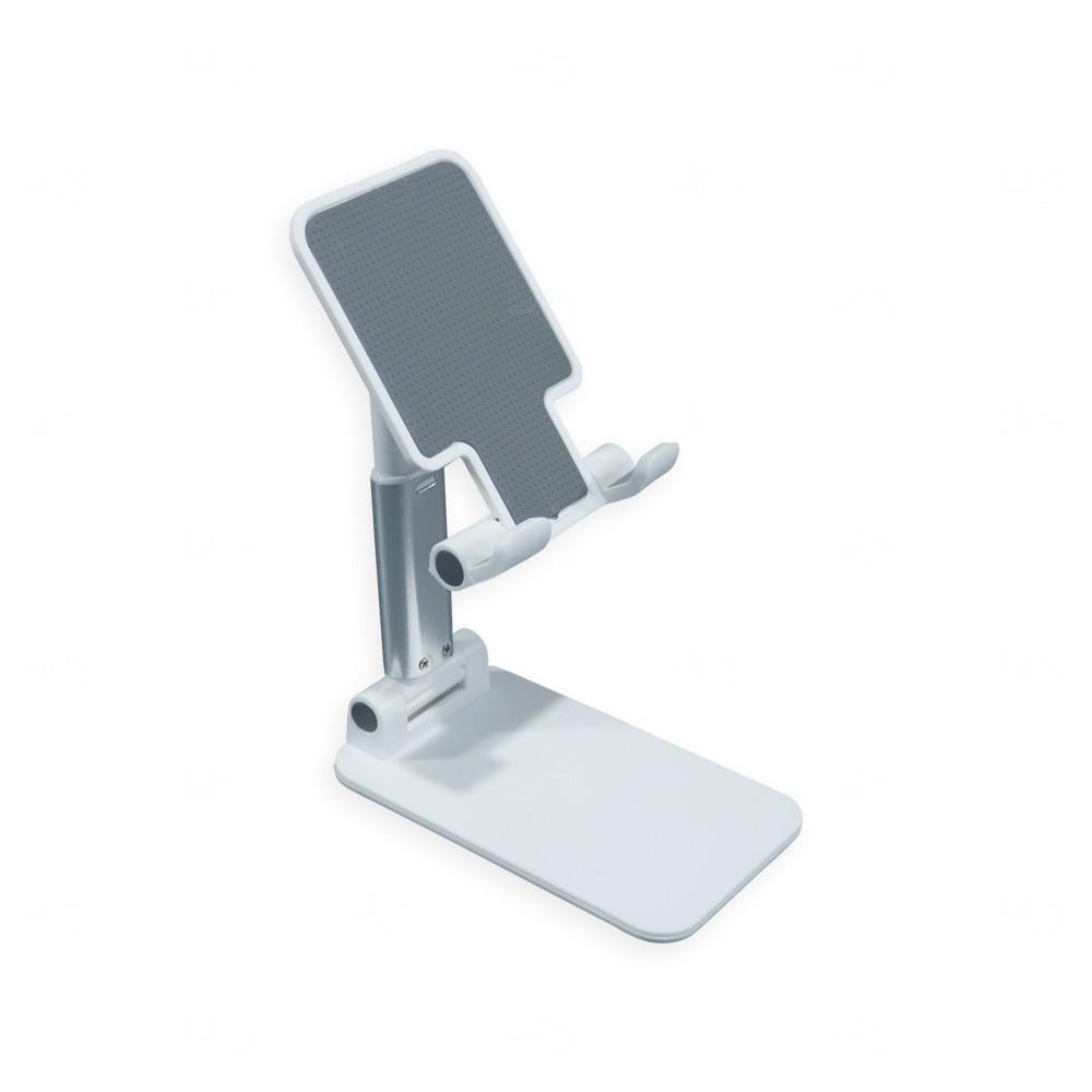 Suporte Retrátil para Celular e Tablet Personalizado Branco