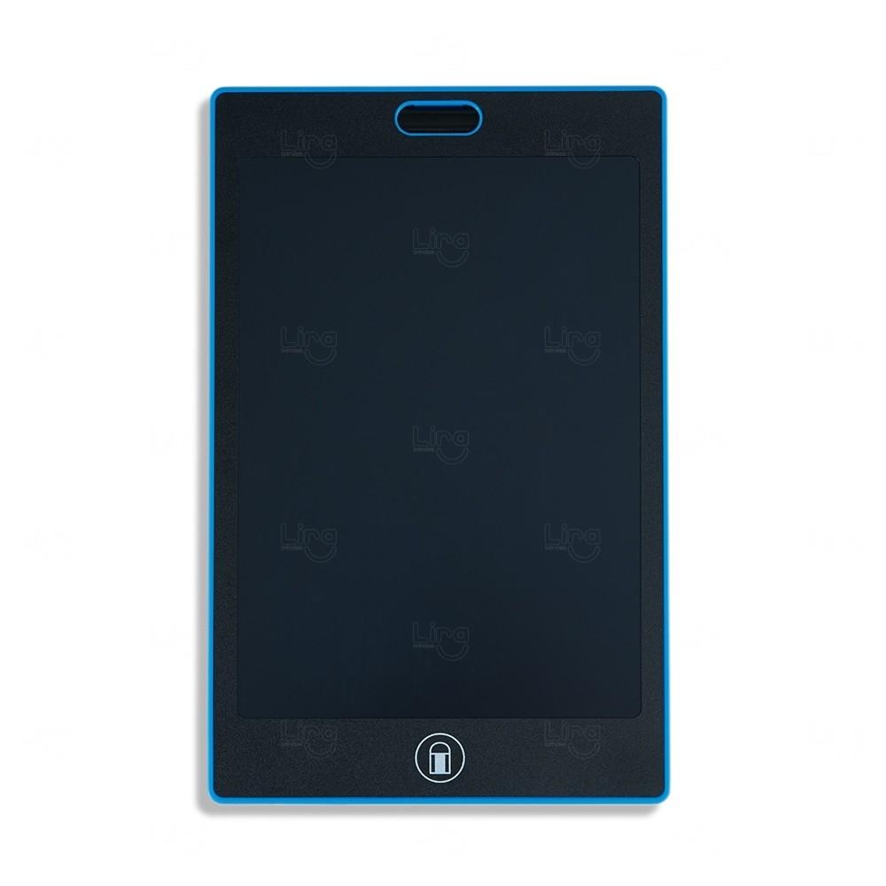 Tablet para Anotações Personalizado Azul