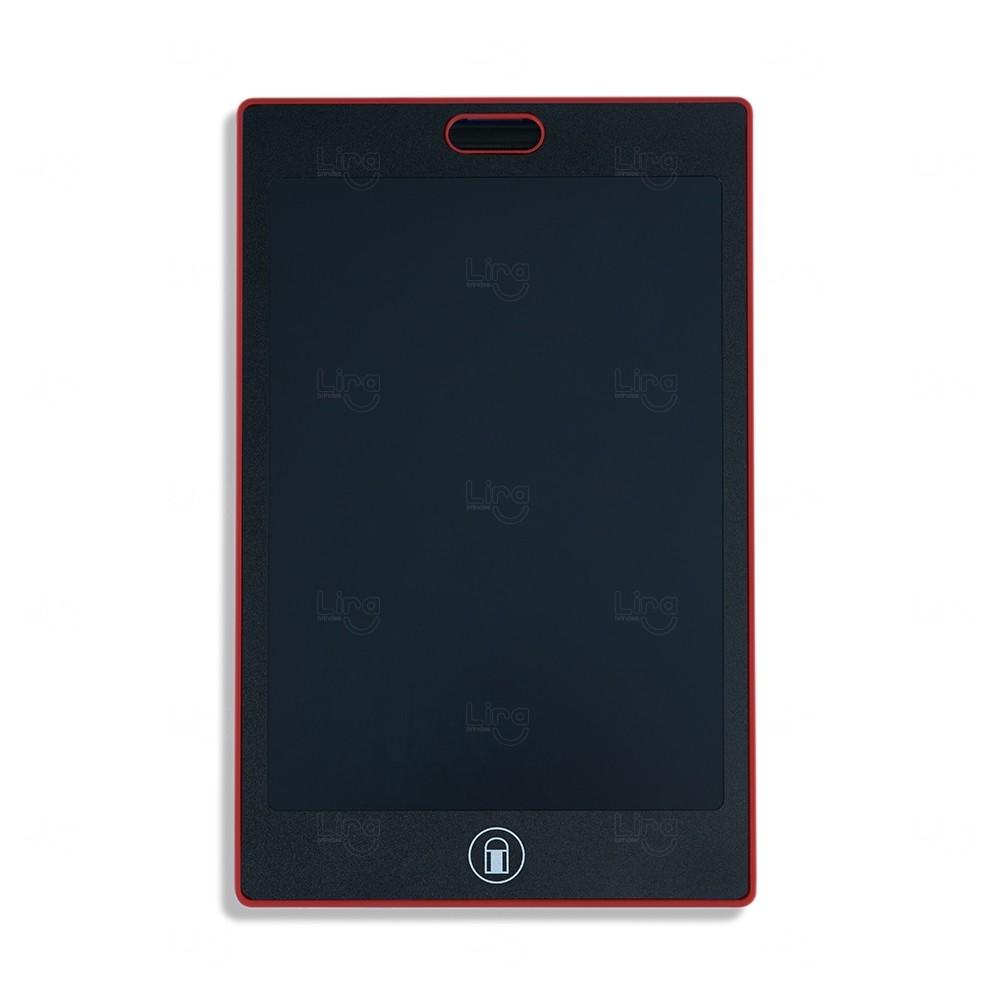 Tablet para Anotações Personalizado Vermelho
