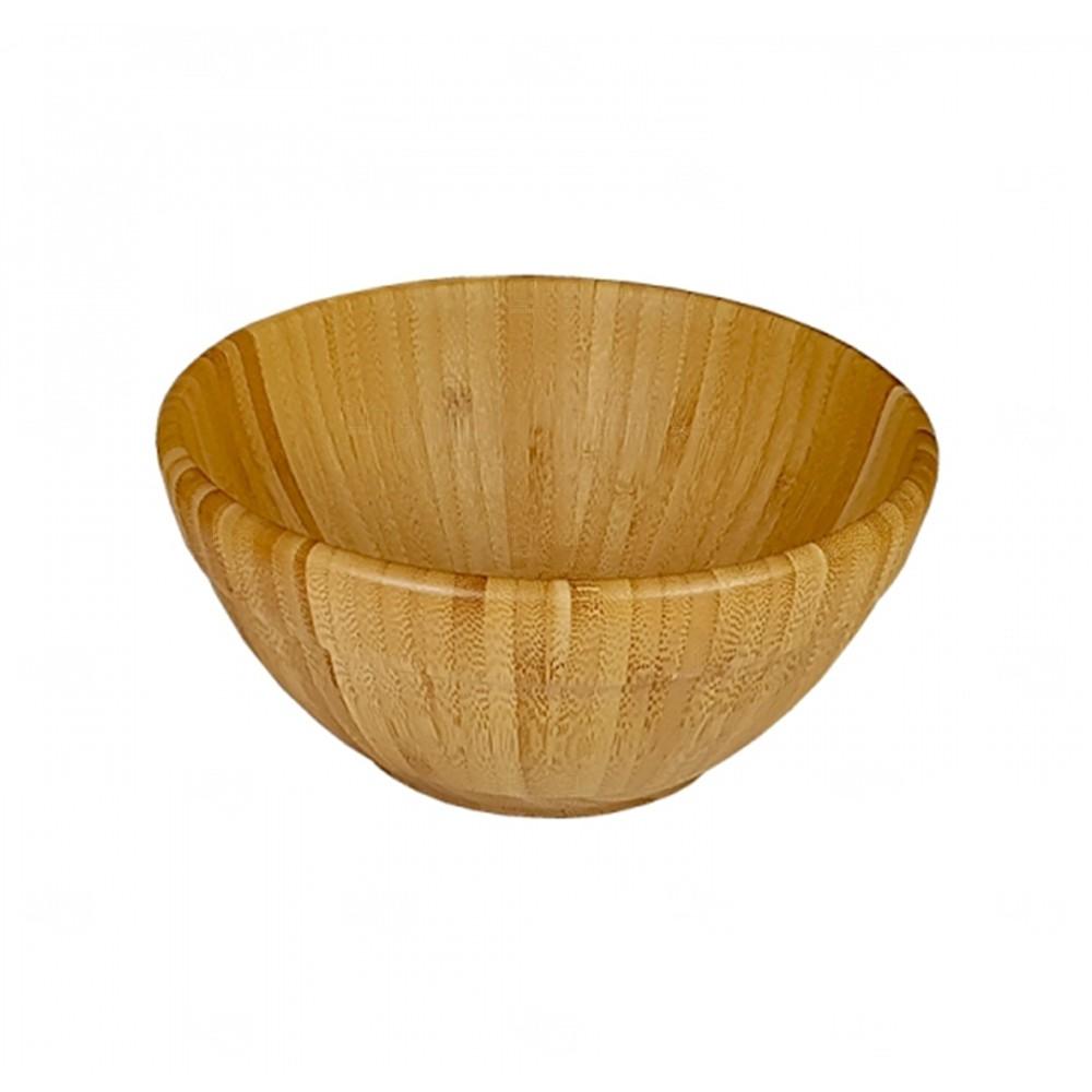 Saladeira Média de Bambu Personalizado - 1,75L Bambu