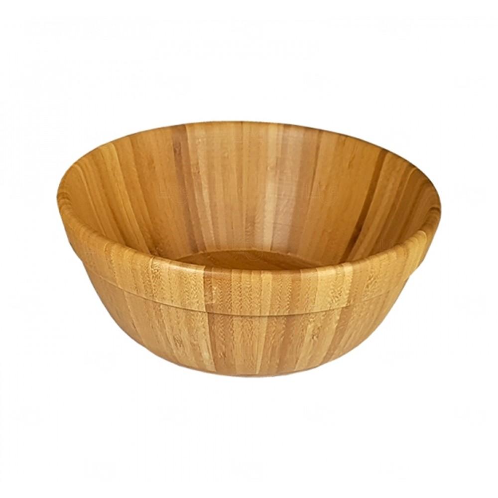 Saladeira Grande de Bambu Personalizado - 3,5L Bambu