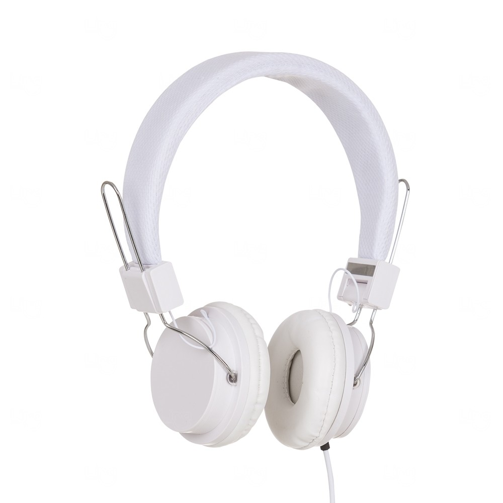 Fone de Ouvido Estéreo Personalizado Branco