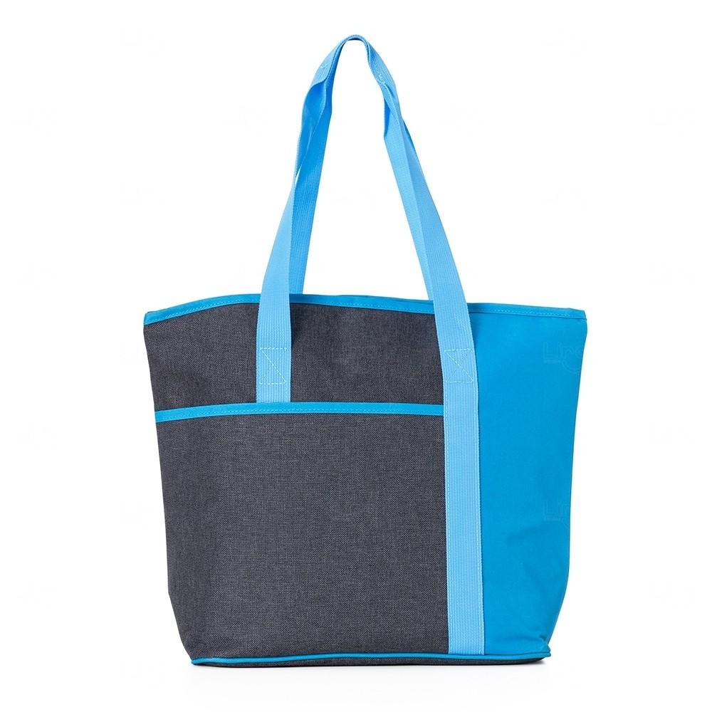 Bolsa Térmica Personalizada - 35x42 cm Azul
