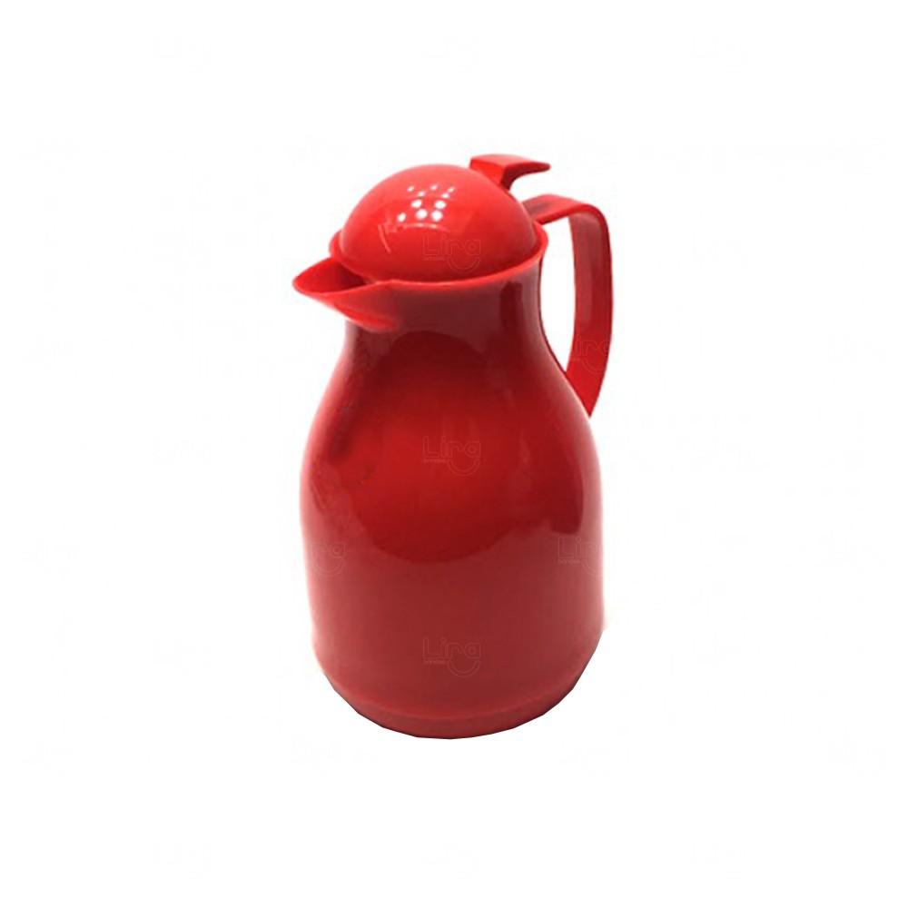 Garrafa Térmica Personalizada - 1 Litro Vermelho