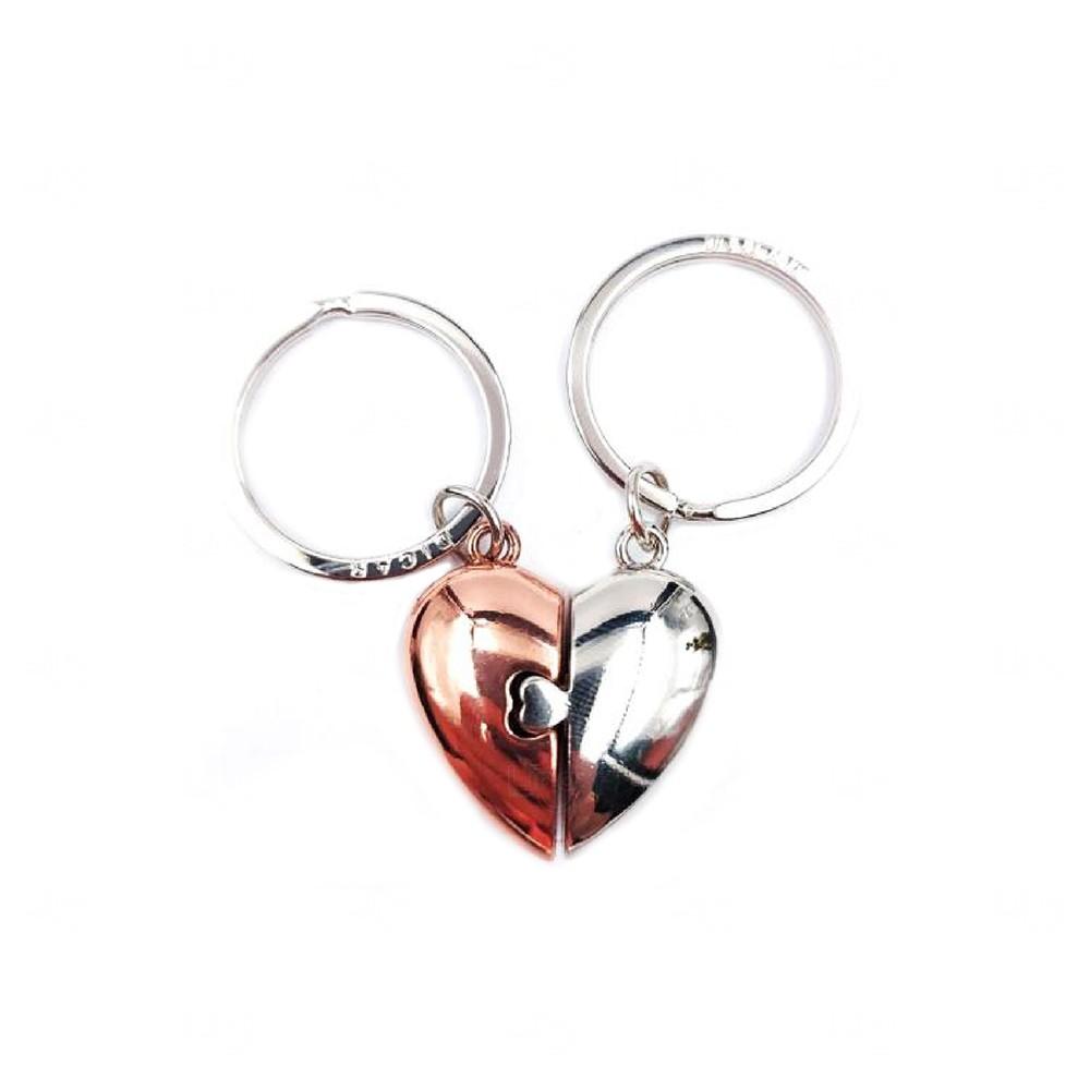 Chaveiro Coração Personalizado Metal