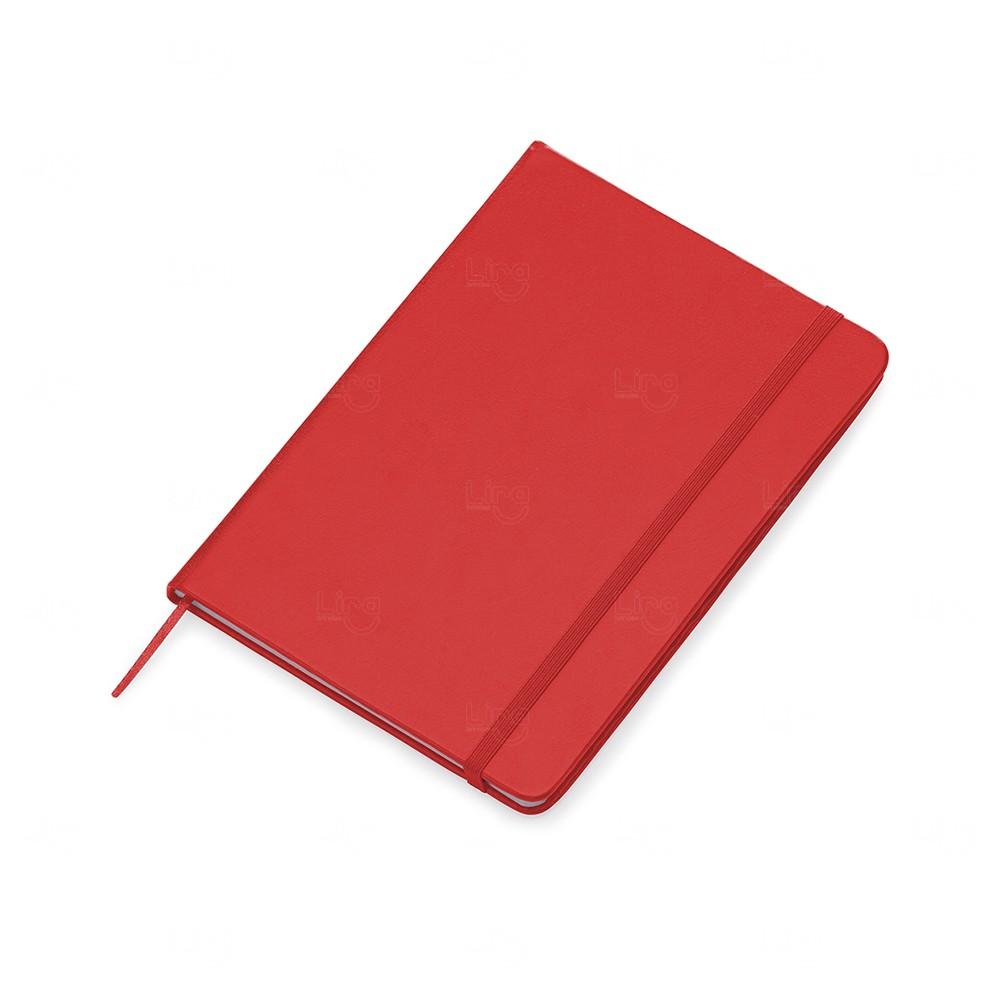 Kit Moleskine c/ Caneta Personalizado Vermelho