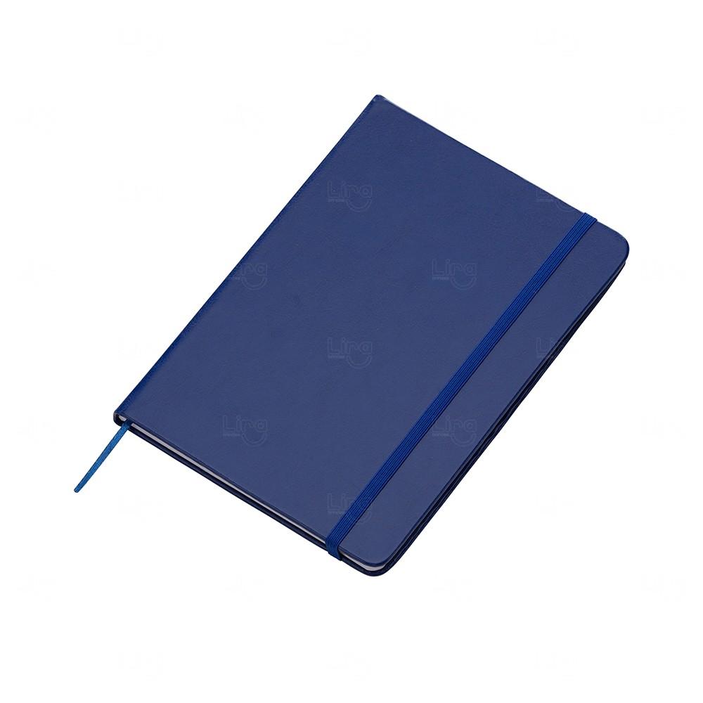 Kit Moleskine c/ Caneta Personalizado Azul