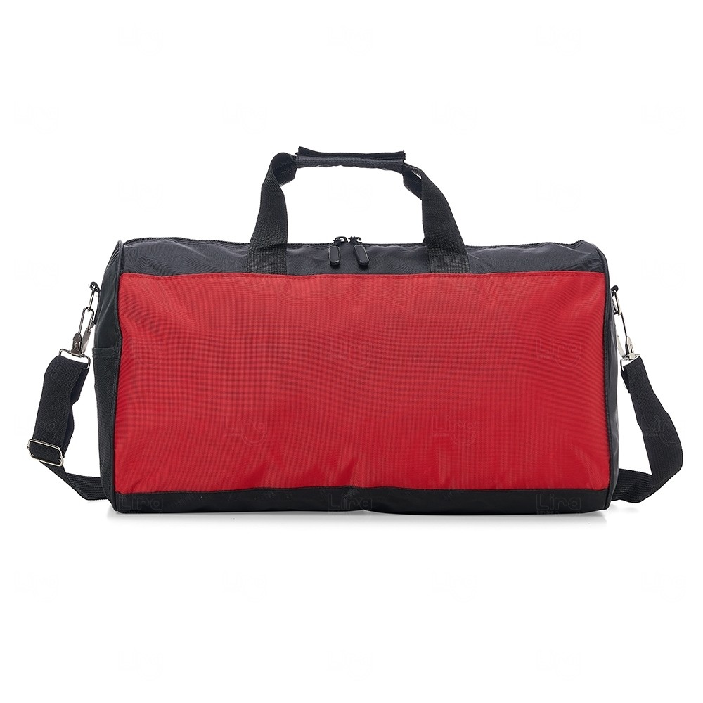 Bolsa de Viagem em Poliéster  Personalizado Vermelho