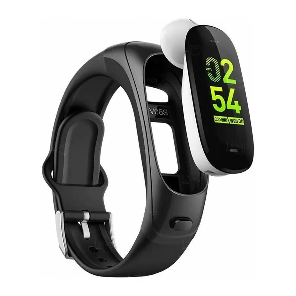 Smartwatch Com Fone de Ouvido W18 Personalizado