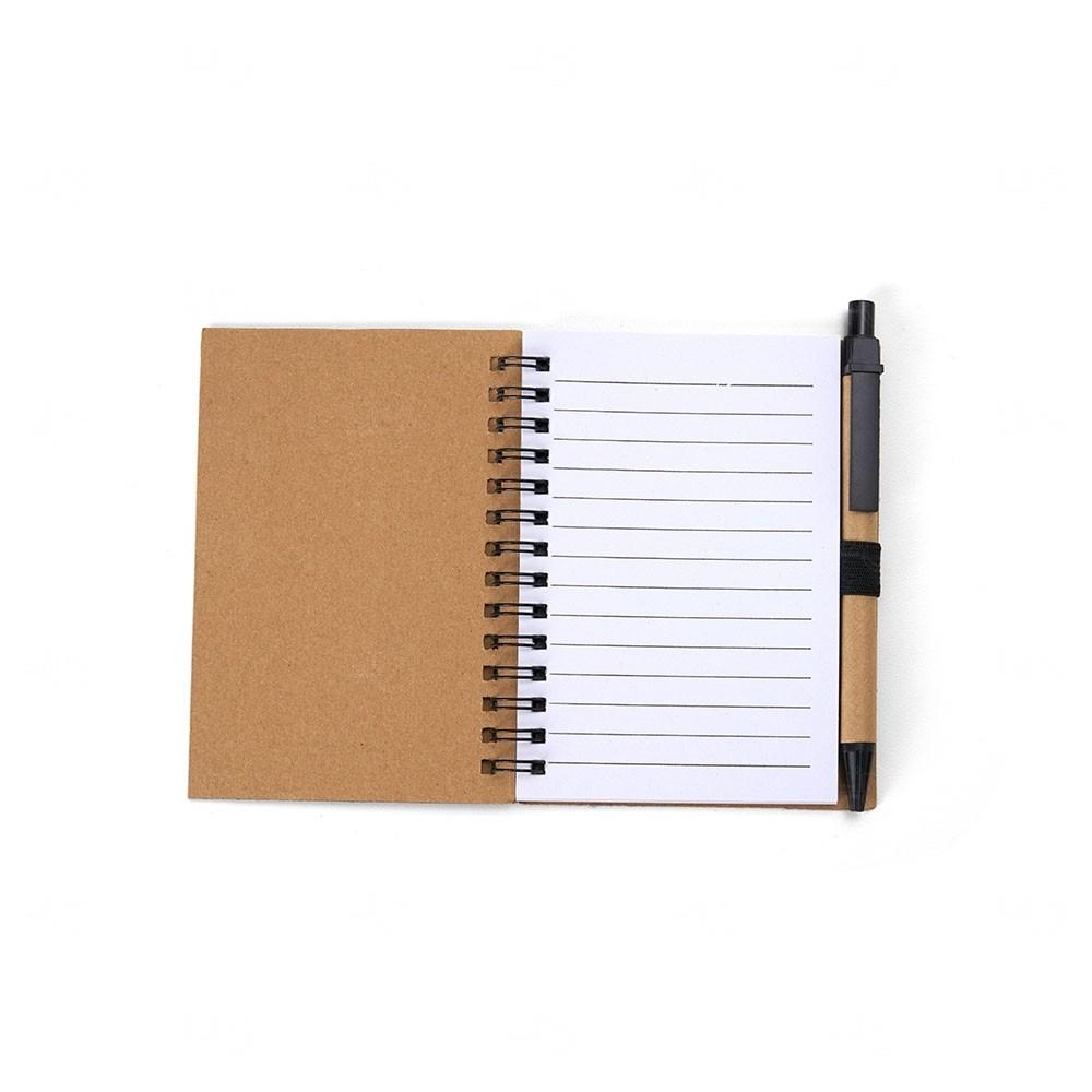 Bloco Personalizado de Anotações Ecológico, Post-it e Caneta