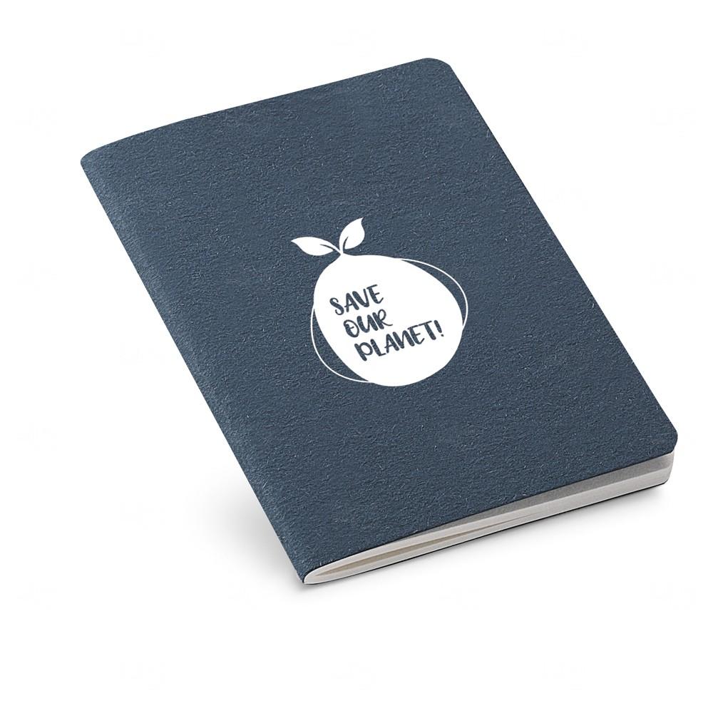 Mini Caderno B7  personalizado Preto