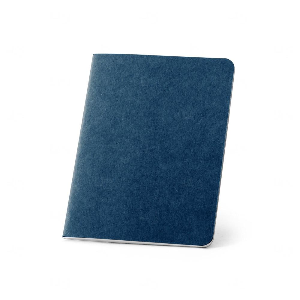 Mini Caderno B7  personalizado Azul