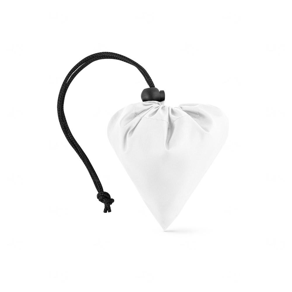 Sacola personalizada dobrável em rPET Branco