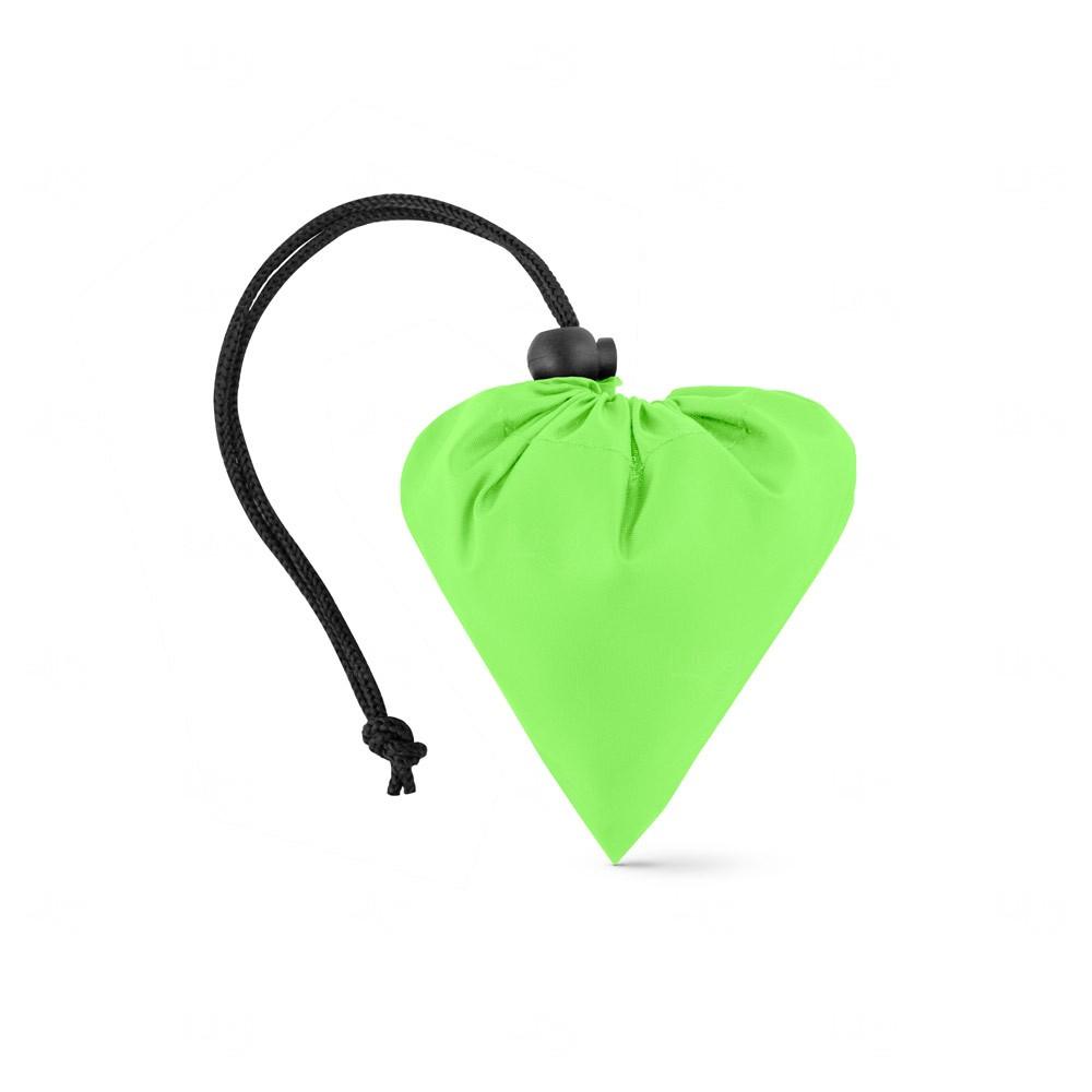 Sacola personalizada dobrável em rPET Verde