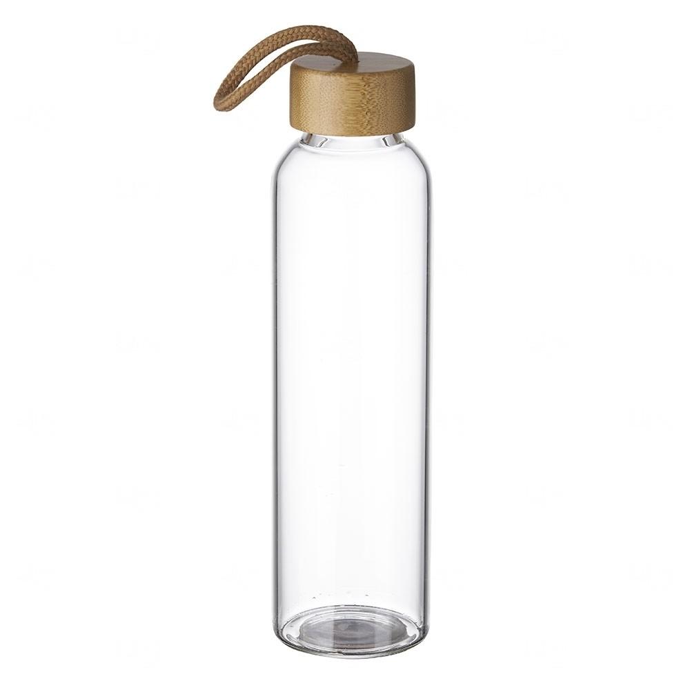 Garrafa Personalizada de Vidro 600ml Transparente