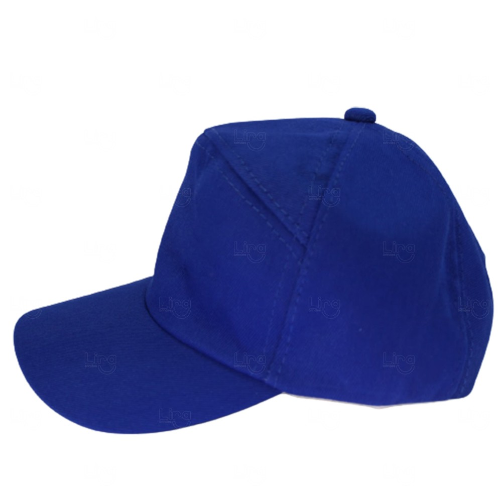 Boné Personalizado Francês / Oxford Azul