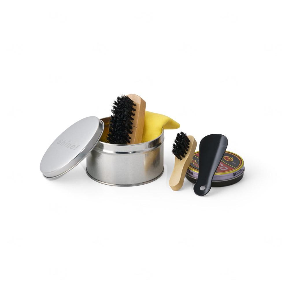 Kit personalizado de limpeza de sapatos Cromado